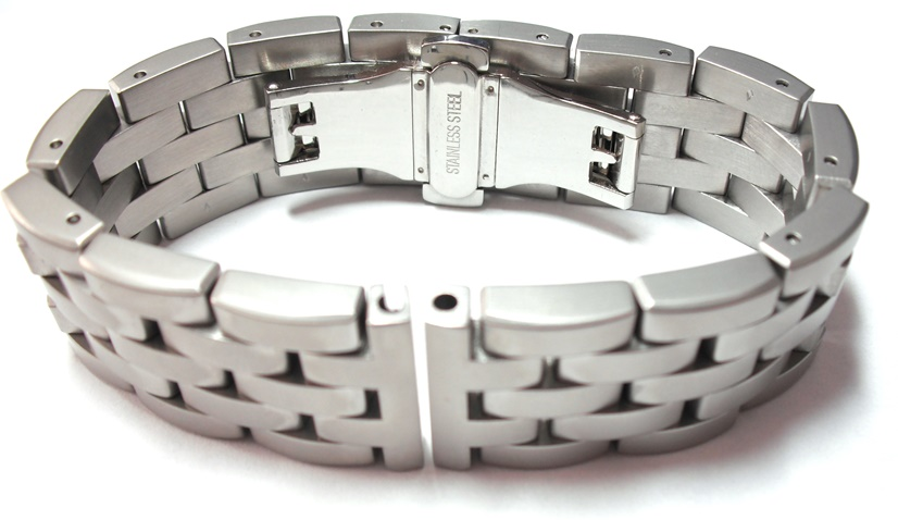 stainless steel made products row hiphopbling lab bracelet